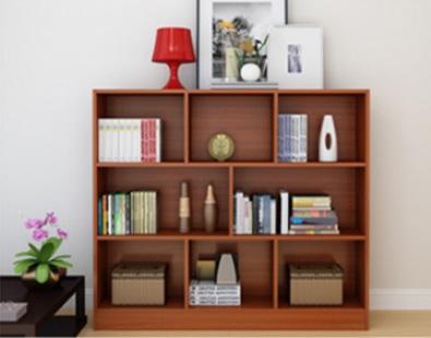 Mẫu kệ sách gỗ đẹp rộng 1m2 cao 3 tầng  KSG11