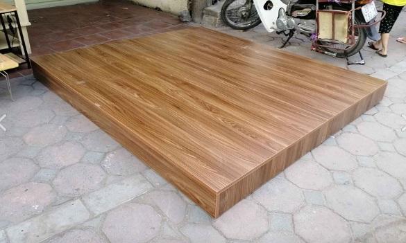 Phản hộp nằm ngủ bằng gỗ công nghiêp KT: 200x160x20cm
