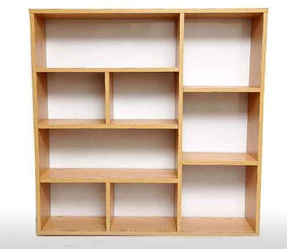 Giá kệ sách gỗ 4 tầng treo tường rộng 1,2 mét KTT09