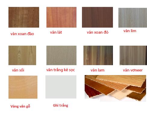 Mặt bàn làm bằng gỗ công nghiệp melamine