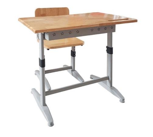 Bộ bàn ghế học sinh chân sắt BHS-14-07CS